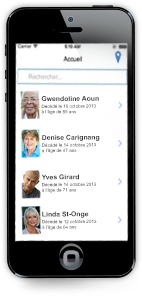 L'application mobile Grégoire & Desrochers disponible sur iOS et Android